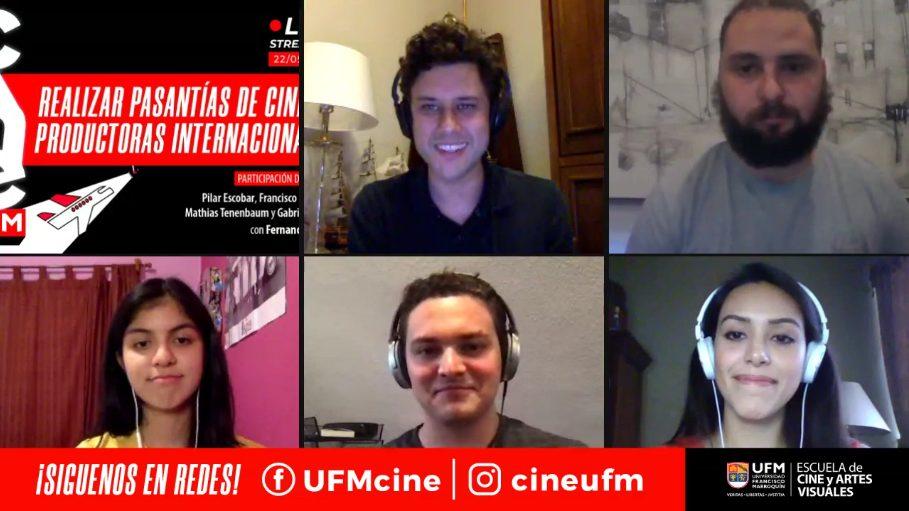 Cine UFM Live con alumni