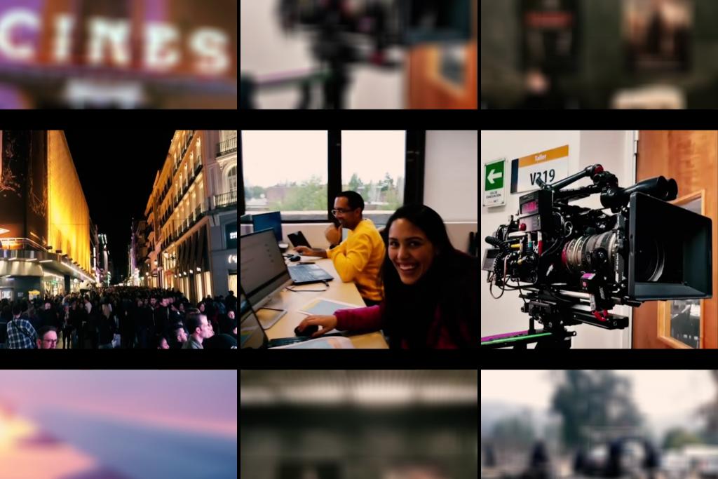 Estudiantes de Cine realizan pasantías en las productoras Vértice 360 en España y Fábula TV en Chile