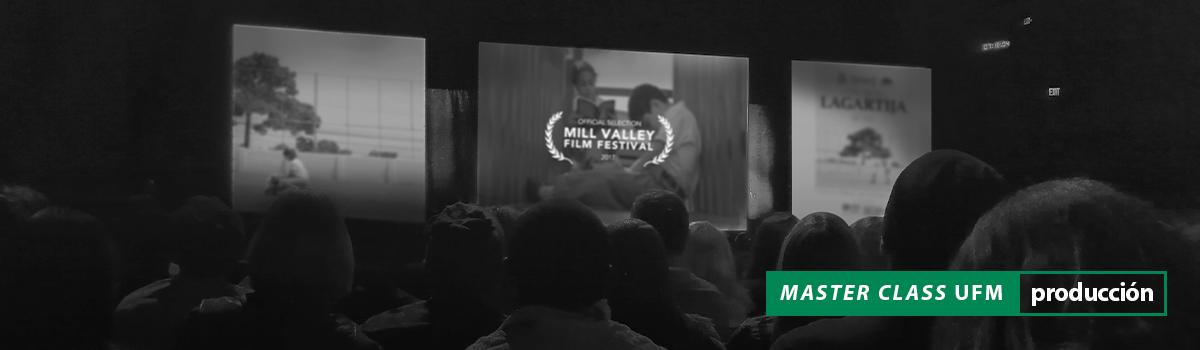 Master Class estrategias de distribución de cortometrajes en festivales Escuela de Cine UFM