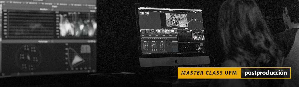 Master Class fundamentos de la colorización Escuela de Cine UFM