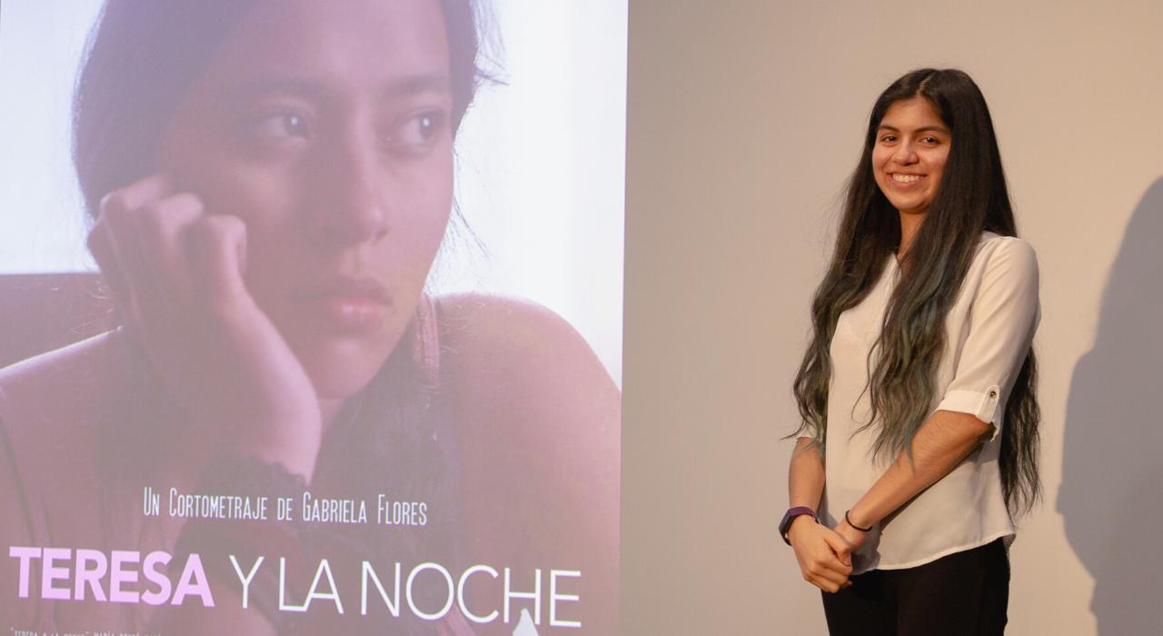 Gabriela Flores cineasta UFM Guatemala