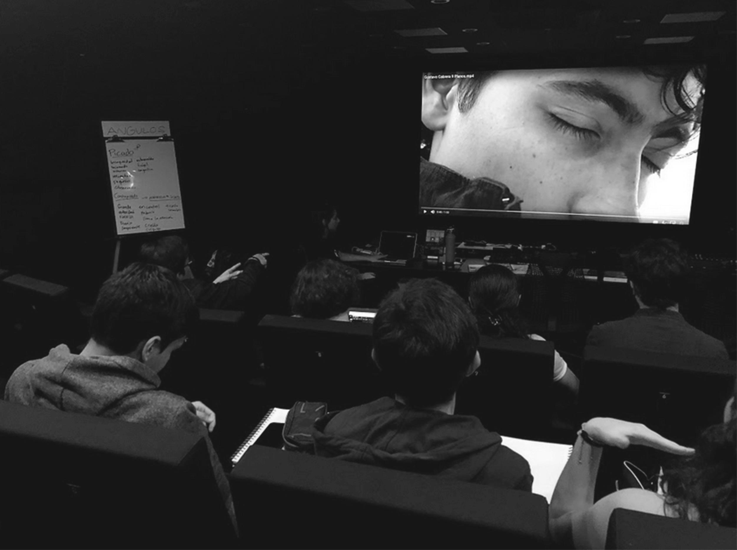 principios del lenguaje cinematográfico curso libre cine ufm con dácil manrique