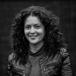 Kim Picado actriz directora de casting de costa rica en Cine UFM guatemala