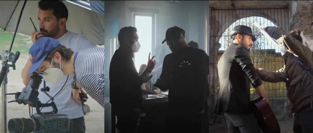 Romeo López Aldana y Johann Nolck cortometrajes Banco Industrial Guatemala Historias de Créditos BI